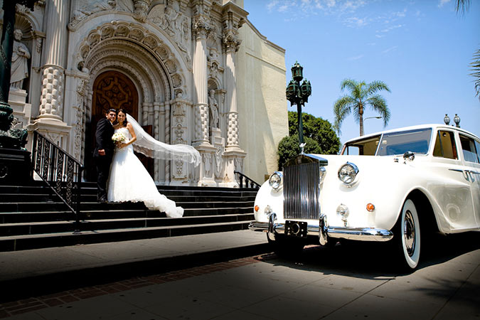 Wedding Photograph Saint Vincent S Church Los Angeles